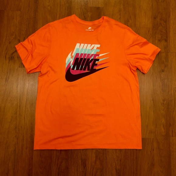 ciro Terminologia coda  orange mens nike shirt Shop Clothing & Shoes Online